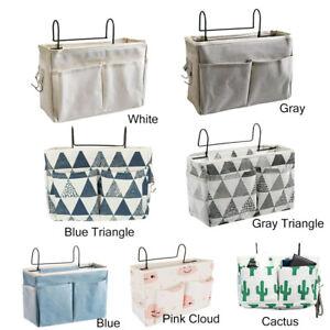 Bedside Storage Bag Hanging Bags Organiser Hook Holder Cabin Shelf Bunks Pocket