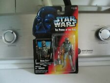 Star Wars BOBA FETT WITH SAWED-OFF BLASTER RIFLE & JET PACK
