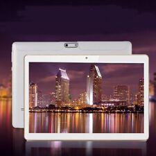 Weiß 16GB 10,1 ZOLL Tablet PC Android 6.0 2X SIM & KAMERA 3G GPS mit 32GB Card