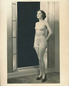 1930s Original 8 x 10 Underwear Fashion Show Photo Earl Carroll Vanities Girl vv