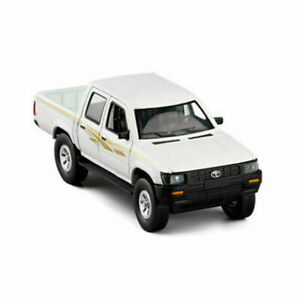 Kids White New Toyota Hilux Pickup Truck 1:32 Model Car Diecast Gift Toy Vehicle