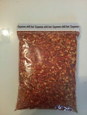 """224gr/8oz.""""NEW""""CAYENNE PEPPER CHILI Crush/Flakes/ HOTTEST IN THE WORLD!!!"""