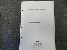 1996 ford econoline van e150 e250 e350 cargo electrical wiring diagram  manual