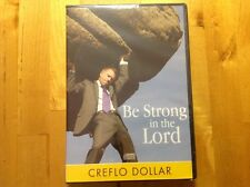 """Creflo Dollar-""""Be Strong In The Lord"""" 2-CD Set Brand New Sealed"""