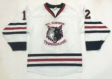 Athletic Knit Mt. Clemens Timberwolves #12 Hockey Jersey Men S White Canada Sewn