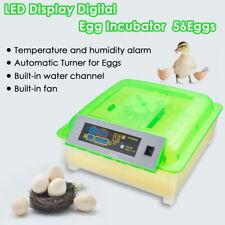 7/9/12/24/32/36/48/56/96/ 112 Automatic Digital Chicken Bird Incubator Hatcher