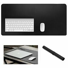Extended Leather Mouse Pad Mat Large Office Writing Gaming Desk Computer Yikda