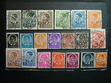 Jugoslavia  1939  Peter II   lot 20 stamps