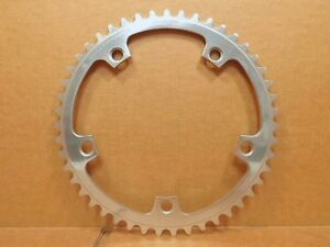 New-Old-Stock Campagnolo Super Record Chainring (47T / 144mm BCD)..Some Shopwear