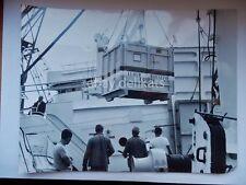 NAVE ship vecchia foto originale Venezia Lloyd Triestino container