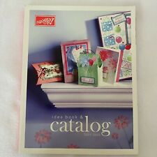 New Listing2001-2002 Stampin' Up! Idea Book & Catalog: Rubber Stamps, Cards, Scrapbooking