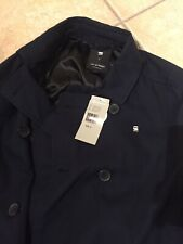 Jacket Size G Star  Garber Trench S blue Military New