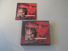 Verdi  Macbeth (Gesamtaufnahme London 1971) Fischer-Dieskau Pavarotti -  2 CD