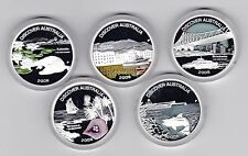 Discover Australia 2006 2007 2008 Series Set of 15 $1 Silver Proof Coin Landmark