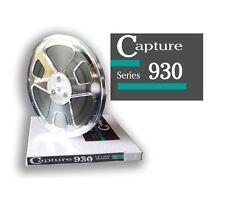 """CAPTURE SERIES 930 TAPE REEL TO REEL 1/4"""" X1800' 7"""" PLASTIC REEL RTM RMGI NEW"""