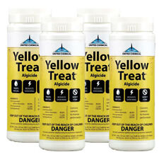 United Chemical 4 Pack Yellow Treat 2lb Container YT-C12 Swimming Pool Algaecide