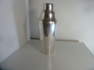 FRENCH COKTAIL SHAKER ART DECO GALLIA / CHRISTOFLE - brillant luster