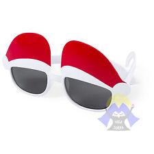 OCCHIALI da SOLE di BABBO NATALE Natalizi FESTA Divertenti CHRISTMAS Unisex NEVE