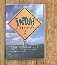 Indie Anthems : Vol 3 (DVD, 2004) All Regions Music Various Artists DVD