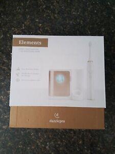 Dazzlepro Elements Sonic Toothbrush and UV Sanitizing Base, Gold