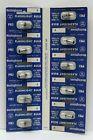 Vintage Westinghouse PR3 Flashlight Bulbs 4.5V Store Display card of 10 NOS 60s