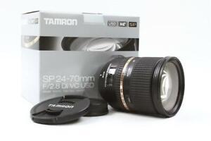 [Nr MINT!] Tamron SP 24-70mm F/2.8 Di USD VC A007N Lens for Nikon Mount