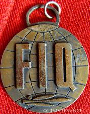 MED2896 - MEDAILLE CHAMPIONNAT DU CONTINENT FED. INTERNATIONAL DE QUILLES FIQ