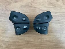 Mercedes W208 W210 CLK Steering Wheel Airbag Control Buttons Switches Black V