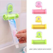 2pcs Rolling Toothpaste Dispenser Tube Squeezer Sucker Holder Hanger Gadget