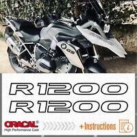 2pcs Adesivi R1200 compatibile con moto R1200GS BMW R 1200 GS R1200