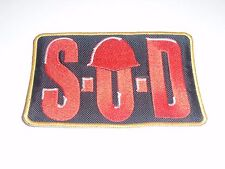 STORM TROOPERS OF DEATH S.O.D. EMBROIDERED PATCH