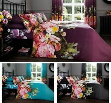 Faded Floral Luxury Duvet Covers Quilt Covers Reversible Bedding Sets All Sizes