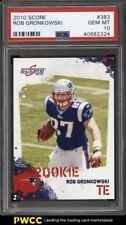 2010 Score Football Rob Gronkowski ROOKIE RC #383 PSA 10 GEM MINT (PWCC)