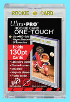 1 Ultra Pro ONE TOUCH MAGNETIC 130pt UV ROOKIE GOLD Trading Card Holder Case