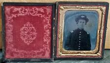 6th Plate Cased Amobrotype: Civil War Infantry Officer - Sorgho, Kentucky Find