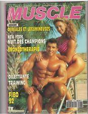 Le Monde Du MUSCLE #113 bodybuilding mag/MILOS SARCEV & Monica Switzer 8-92 (Fr)