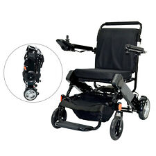 Lightweight Portable Collapsible Folding Electric Mobility Wheelchair