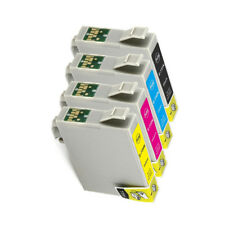 4x Abakoo ink cartridge for Epson 73N CX8300 CX9300F T40W TX510FN TX610FW T20