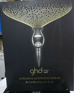 GHD Air Hair Dryer Professional Performance 3 Heat Ionic Settings 2-Speed