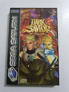 DARK SAVIOR Sega Saturn Pal España SIN MANUAL LEER👇