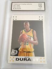 KEVIN DURANT WARRIORS 2007 TOPPS GRADED 10 GEM MINT SET ROOKIE NICE !
