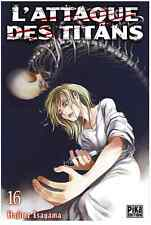 manga L'Attaque des Titans Tome 16 Seinen Hajime Isayama Pika Shingeki no Kyojin
