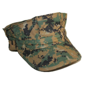 WW2 American USMC Marine Crops Octagonal Hat Military Hat Retro Sports Cap