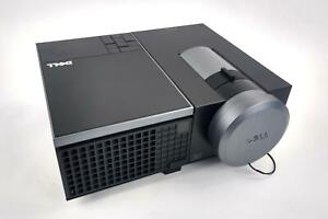 Dell 4310WX  HDMI WXGA 3D FHD DLP Projector 1120 Lamp Hrs - WORKING