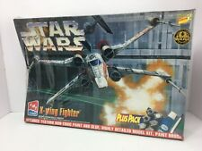 AMT ERTL Star Wars X-Wing Fighter 8433 Plus Pack Sealed SKill Level 2