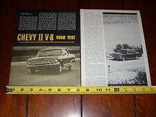 1964 CHEVROLET CHEVY II NOVA - ORIGINAL VINTAGE ARTICLE