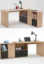 Schreibtische mit Ablagen aus Buche