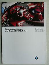 Prospekt BMW Z 3 Sonderausstattungen und Original BMW Zubehör, 2.1996, 16 Seiten