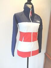 North Face RU 14 USA Olympic 2014 Sochi Jacket Red White & Blue Flag Size XS/TP