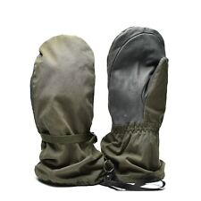 Genuine Austrian army Olive OD GoreTex mittens military waterproof combat gloves